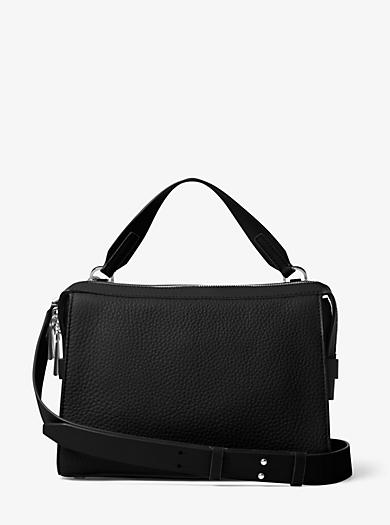 Ingrid Medium Leather Shoulder Bag by Michael Kors