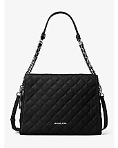 Rachel Large Quilted-Leather Shoulder Bag