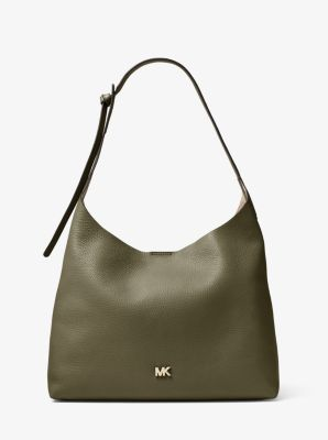 마이클 마이클 코어스 Michael Michael Kors Junie Medium Leather Shoulder Bag