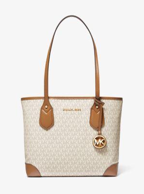 마이클 마이클 코어스 Michael Michael Kors Eva Small Logo Tote Bag