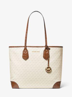 마이클 마이클 코어스 Michael Michael Kors Eva Large Logo Tote Bag