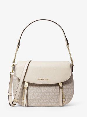 마이클 마이클 코어스 Michael Michael Kors Evie Medium Logo Shoulder Bag