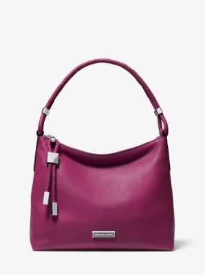 마이클 마이클 코어스 Michael Michael Kors Lexington Medium Pebbled Leather Shoulder Bag