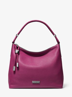 마이클 마이클 코어스 Michael Michael Kors Lexington Large Pebbled Leather Shoulder Bag