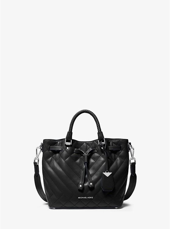 Blakely Small Quilted Leather Bucket Bag | Michael Kors
