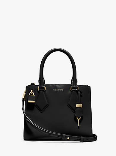 Casey Small Leather Satchel by Michael Kors