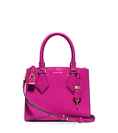 Casey Calf Leather Small Satchel