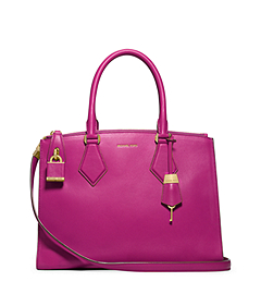 Casey Leather Large Satchel
