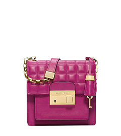 Gia Quilted Leather Small Crossbody