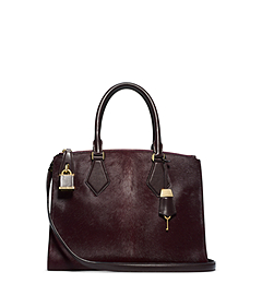 Casey Haircalf Small Satchel