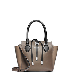 Miranda Tri-Color Calf Leather Extra-Small Tote
