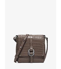 Julie Crocodile Mini Crossbody