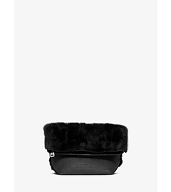 Judith Mink Fold-Over Clutch