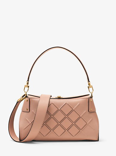 Miranda Medium Quilted Leather Shoulder Bag by Michael Kors