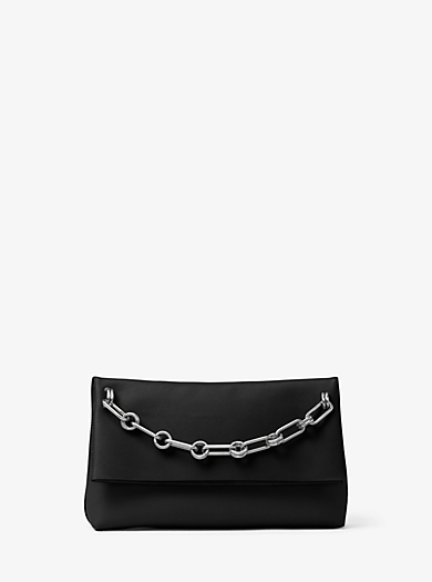 Mia French Calf Clutch by Michael Kors