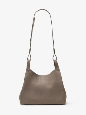 Daria Large Leather Shoulder Bag by Michael Kors