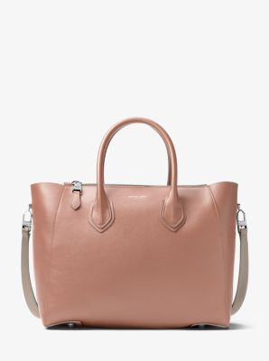 Helena Large French Calf Satchel by Michael Kors