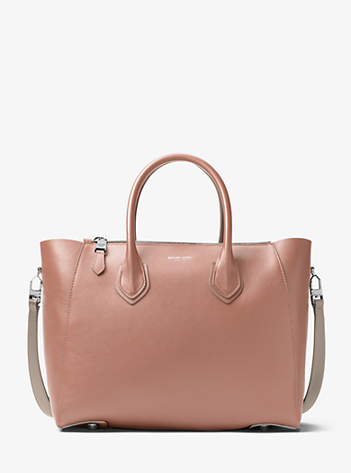 Borsa a mano Helena grande in vitello francese by Michael Kors