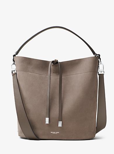 Miranda Large Leather Shoulder Bag by Michael Kors