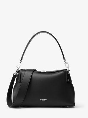 Miranda Medium French Calf Leather Shoulder Bag by Michael Kors