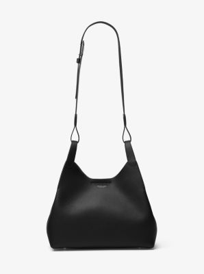 Daria Large Leather Shoulder Bag by Michael Kors