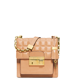 Gia Small Quilted-Leather Crossbody