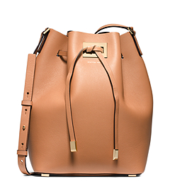 Miranda Large Leather Messenger