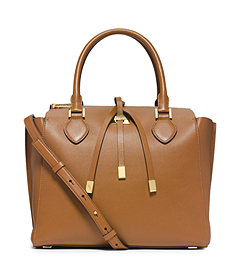 Miranda Large Leather Satchel