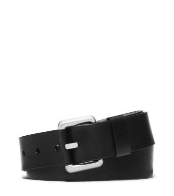 Vachetta Leather Trouser Belt by Michael Kors
