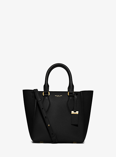 Gracie Small Leather Tote by Michael Kors