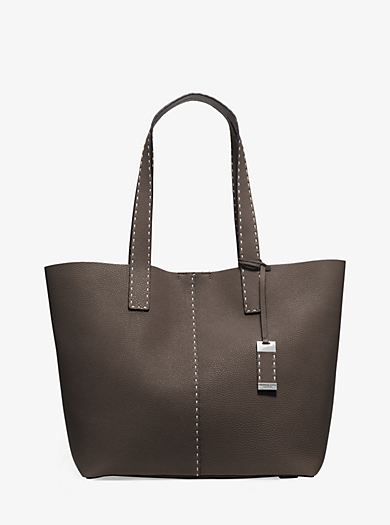 Rogers Large Pebbled-Leather Tote by Michael Kors
