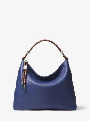 마이클 코어스 숄더백 Michael Kors Skorpios Pebbled-Leather Shoulder Bag