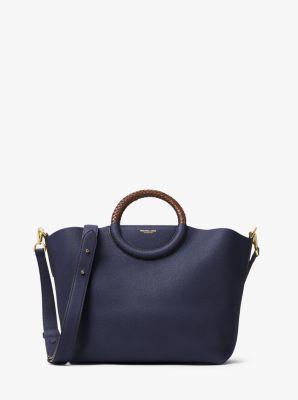 Skorpios Leather Market Bag by Michael Kors