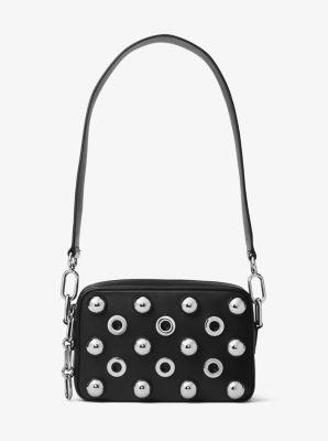 Julie Small Embellished Leather Camera Bag by Michael Kors