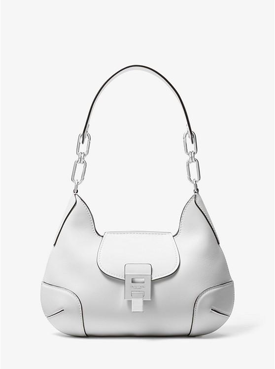 Bancroft Medium Calf Leather Shoulder Bag  | Michael Kors