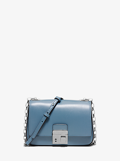 Gia Small Leather Shoulder Bag by Michael Kors