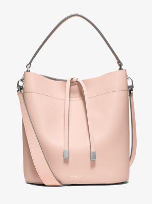 Miranda Medium Leather Shoulder Bag  by Michael Kors