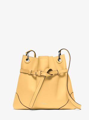 Sedona Medium Leather Hobo  by Michael Kors