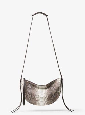 Sedona Medium Python Shoulder Bag by Michael Kors