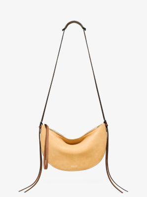 Sedona Medium Suede Shoulder Bag  by Michael Kors