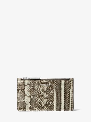 Michael Kors Small Snakeskin Card Case