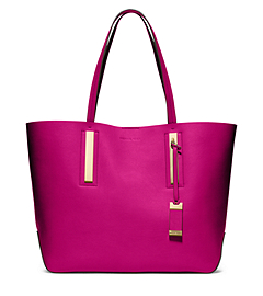 Jaryn Calf Leather Tote