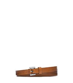 Skinny Loop Vachetta Leather Belt