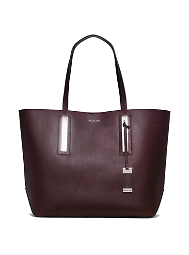 Jaryn Large Leather Tote by Michael Kors