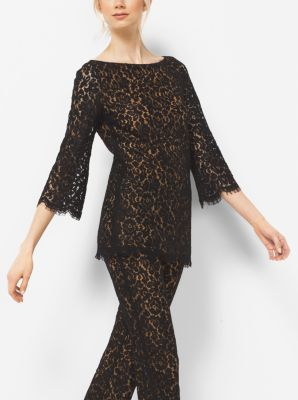 Floral Lace Tunic by Michael Kors