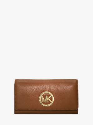 Fulton Leather Carryall Wallet by Michael Kors