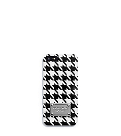 Printed Houndstooth Phone Case