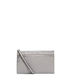 Selma Micro-Stud Leather Clutch