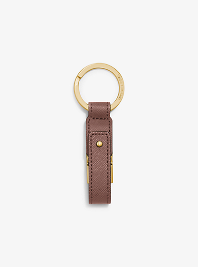Saffiano Leather USB Keychain by Michael Kors