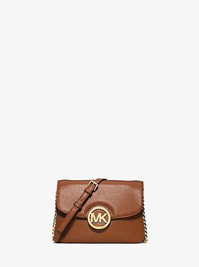 Fulton Leather Crossbody by Michael Kors